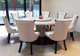 Contemporary Round Dining Table For 6 Round Eat Kitchen Table Best Home Furnitures For Living