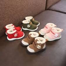 <b>AAdct</b> Genuine leather winter baby <b>shoes</b> cotton fur warm little <b>girls</b> ...