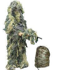 Buy KAS <b>Kids Camo Ghillie Suit</b> Army Camouflage Sniper (L/Xl ...
