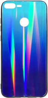 <b>Клип</b>-<b>кейс</b> Inoi shiny gradient для <b>Honor 9</b> Lite (сине-фиолетовый ...