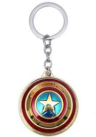 New Shield Keychain Captain Shield Avengers ... - Amazon.com