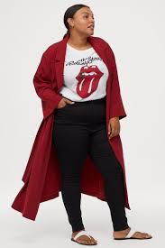 H&M+ <b>Длинное пальто</b> - Терракотовый - Женщины | H&M RU