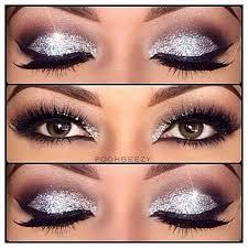 picture of ballroom dance peion glitter eye make up