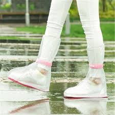 waterproof rain reusable shoes covers all seasons slip resistant rubber boot overshoes men women accessories 01
