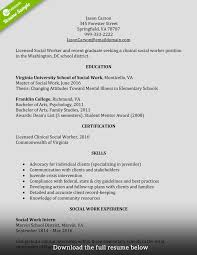 how to write a perfect social worker resume examples included social worker resume entry level