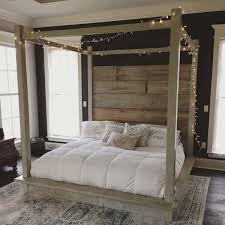reclaimed wood canopy bed white cad liked on polyvore featuring home furniture beds bedroom furniture beds headboards grey home living bedroombreathtaking eames office chair chairs cad