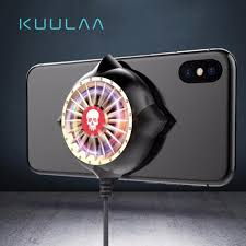 <b>KUULAA Mobile Phone Cooler</b> Phone Heat Sink Cooling Fan for ...