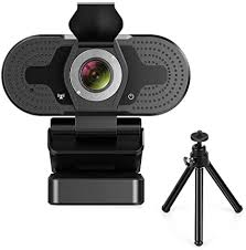 TROPRO Webcam for PC, Full <b>HD 1080P Computer Camera</b> with ...