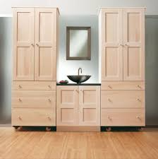 storage draws drawers cabinet ecddcbdbe incredible furniture unfinished oak bathroom cabinet with wheels and b
