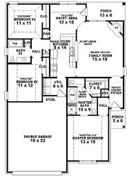 bedroom cottage plans