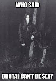 "Vintage Gylve ""Fenriz"" Nagell of Norwegian black metal band ... via Relatably.com"