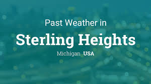 Past Weather in Sterling Heights, Michigan, USA — Yesterday or ...