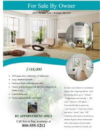 real estate flyers  flyer flyer templates for by owner modern flyer