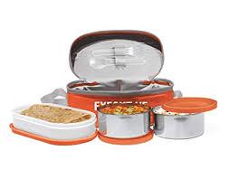 Buy Milton Executive Lunch Box Set, <b>3</b>-<b>Pieces</b>, 260 ml, Orange ...