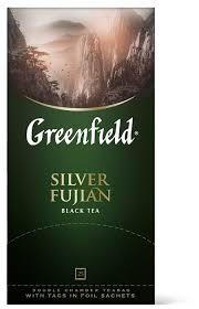 Купить <b>Чай черный Greenfield Silver</b> Fujian в пакетиках, 50 г, 25 ...