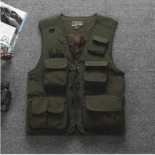 Summer Outdoor Fishing Breathable <b>Mesh Vest</b> Photography ...