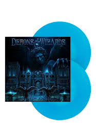 <b>Demons</b> & <b>Wizards</b> - III Light Blue - Colored <b>2</b> LP - Official Power ...