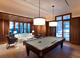 pool table lights in family room traditional with drum pendant ceiling lighting billiard room lighting