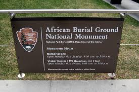 Image result for african burial ground new york