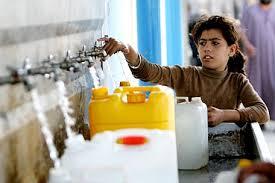 Resultado de imagen para A los palestinos les roban el agua y después se las racionan 2 veces por semana