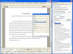 thesis literature review    Works Cited Page