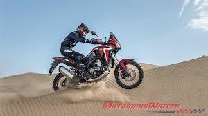 <b>Honda Africa Twin</b> CRF1100L unveiled - Motorbike Writer