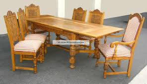 1950 Dining Room Furniture 1of3 Vintage Ornate French Country Renaissance Style Diningroom