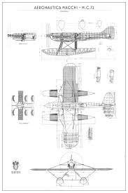 Macchi Castoldi <b>MC</b>-72 | Aereo, Aeroplani, Aviazione