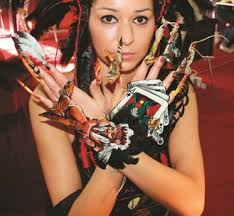 """The theme of the 14th Nail Art Poland Championships was """"Very Wild, Wild West. - M-na0212StyleNSI1-1"""