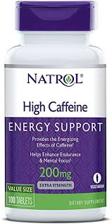 Natrol High Caffeine Tablets, Energy Support, Helps ... - Amazon.com