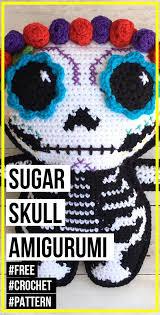 crochet <b>Sugar Skull</b> Amigurumi free <b>pattern</b> - easy crochet ...