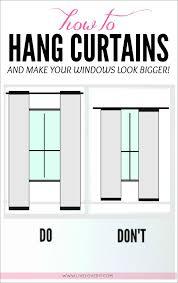 ideas diy curtains