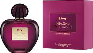 <b>Antonio Banderas Her Secret</b> Temptation EdT 80 ml