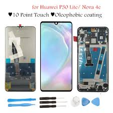"Original <b>6.15</b>"" for Huawei P30 Lite/ Nova 4E <b>LCD Display</b> Touch ..."