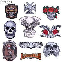 jacket motorcycle <b>skull</b>