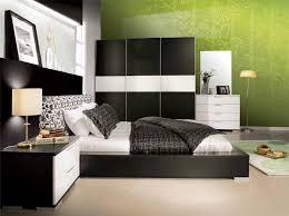 bedroom captivating green wallpaper feat rectangular area rug idea plus fabulous black and white bedroom black white bedroom design suggestions interior