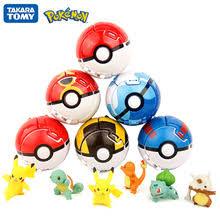 TOMY Pokemon Elf Ball покебол Pikachu Pocket Monster Variant ...