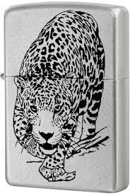 <b>205 Leopard Зажигалка Zippo</b>, Satin Chrome