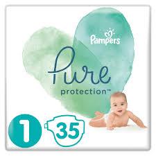 <b>Подгузники Pure</b> Protection Newborn 2-5кг 35шт <b>Pampers</b> 81685097