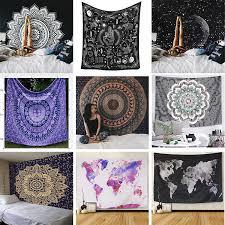 Cartoon Horse <b>Tapestry</b> Fabric blanket Yoga Wall Hanging Funny ...