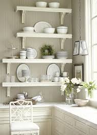 design kitchen wall shelves
