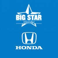 Used Cars, Trucks, SUVs in Stock | <b>Big Star</b> Honda