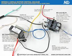 28 amp relay central vacuum wiring diagram 24 volt relay click and print a diagram for wiring a single motor vacuum, Wiring Diagram 24 Volt Relay