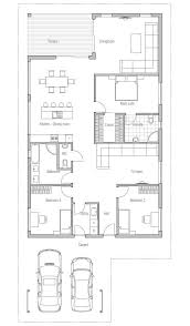 Small house plans  Small houses and Simple lines on PinterestAffordable home   simple lines and shapes  three bedrooms  affordable building budget  suitable