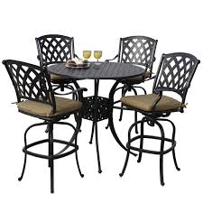 <b>Bar</b> Height <b>Patio</b> Sets | Wayfair