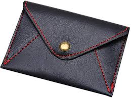 WillowswayW <b>Unisex</b> Matte Ultra-Thin Faux Leather Envelope Card ...
