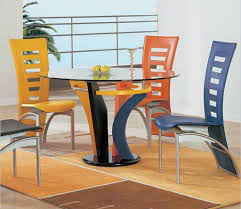 stunning furniture design ideas with colourful dining chairs rattan design idea unique dining furniture round glasses chair unusual dining chairs