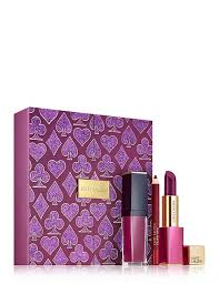 <b>Estee Lauder</b> | David Jones - <b>Casino Royale</b> Plum Lips Gift Set