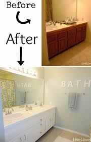 making bathroom cabinets: just look at what an amazing transformation she and her husband accomplished in their master bath