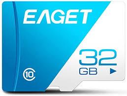 <b>EAGET T1 Memory Card</b>, Class 10 High Speed UHS-I Flash TF ...